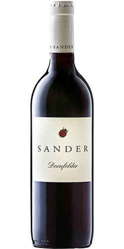 Weingut Sander Dornfelder pure organic wine, red, from € 6,70