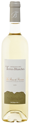 Domaine des Terres Blanches white, Les Baux de Provence, organic wine, from € 15,90