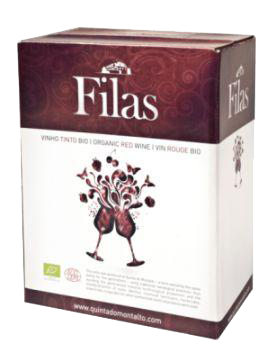 Filas rot Quinta do Montalto, in Bag in Box 3 l, Biowein pur, Portugal
