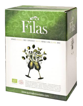 Filas, Biowein, weiß, in Bag in Box, 3 l, Quinta do Montalto