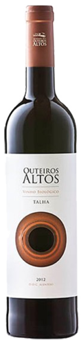 Herdade dos Outeiros Altos Talha,Alentejo DO, vin bio  rouge, de 19,35