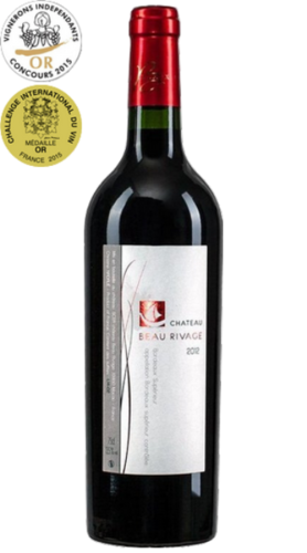 Château Beau Rivage, Bordeaux Superieur, pure organic wine, red, from € 17.45