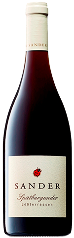 Weingut Sander Pinot Noir Loess terraces, organic red wine, € 14,40