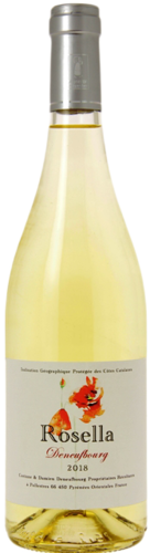 "Domaine Deneufbourg ""Rosella"", Côtes Catalan, organic wine, white, from € 8.50"
