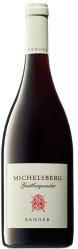 Weingut Sander Pinot Noir Michelberg, pure organic red wine, from € 21,50