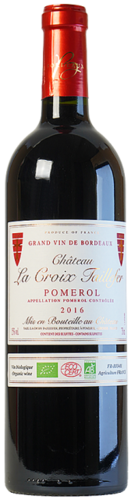 Château La Croix Taillefer, Pomerol, pure organic wine, red, from € 41.80