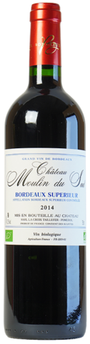 Château Moulin du Sud, Bordeaux Superieur, pure organic wine, red, from € 11.45