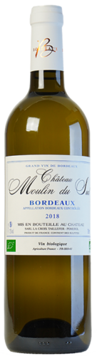 Château Moulin du Sud Bordeaux, pure organic wine, white, from € 11,45d