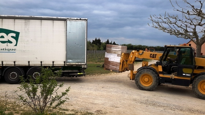 Domaine Julien_dEmbisque, the first order for Biowein[pur] is leaving